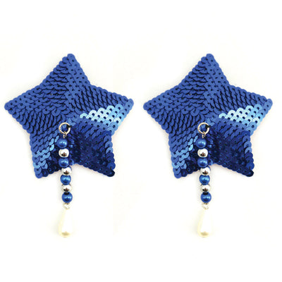 Bijoux de Nip Star Sequin Pasties with Beads