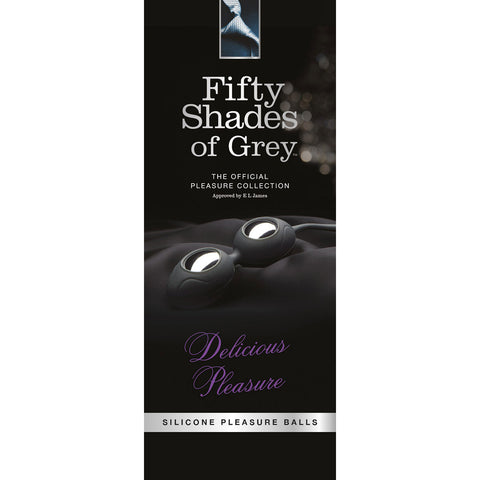 Fifty Shades Delicious Pleasure Silicone Pleasure Balls