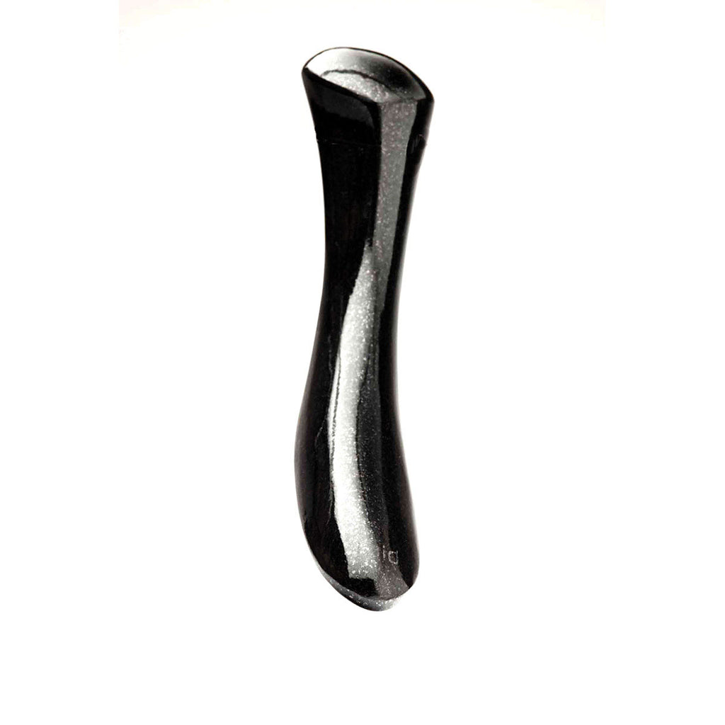 Laid D.2 Stone Absolute Black Granite Curved Dildo