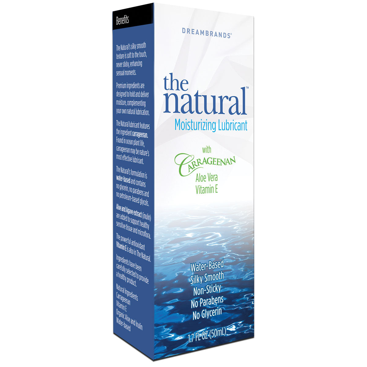 Dreambrands Natural Moisturizing Lubricant 1.7oz