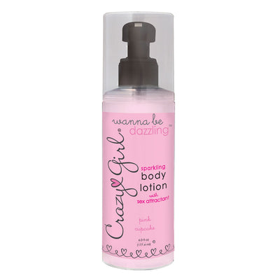 Crazy Girl Wanna Be Dazzling Sparkling Body Lotion 6 oz