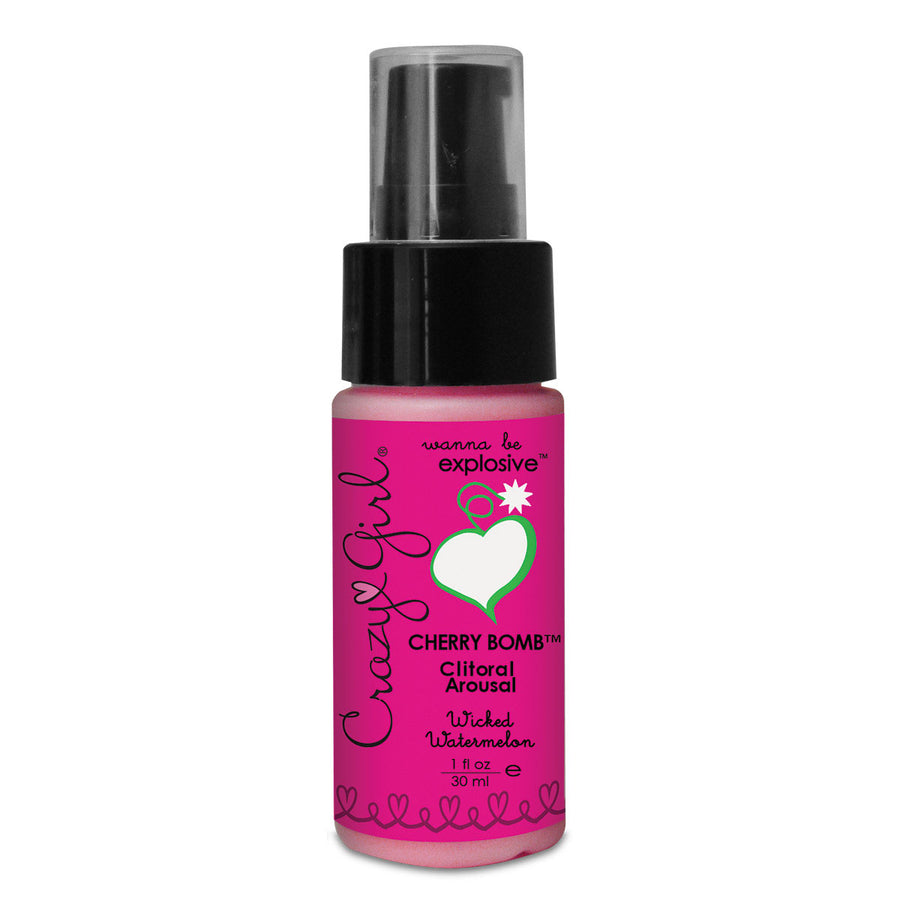 Crazy Girl Cherry Bomb Clitoral Arousal Gel 1 oz