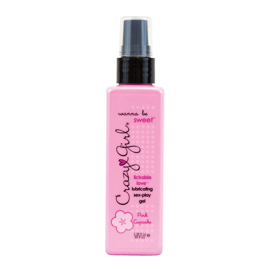 Crazy Girl Lickable Love Sex Play Gel 3.3 oz