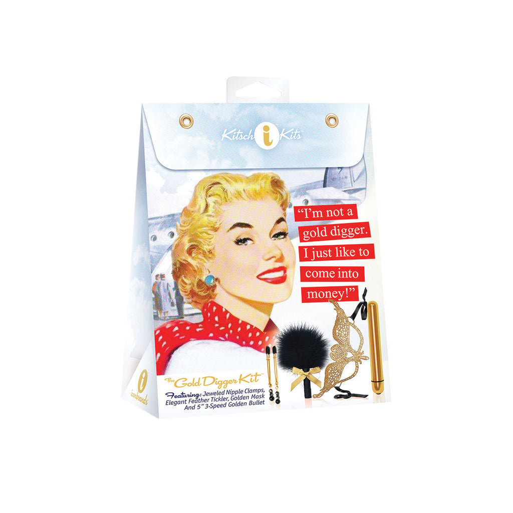 Icon Brands Kitsch Kit: Gold Digger