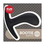 Load image into Gallery viewer, Fun Factory Bootie Curved Beginner's Butt Plug - Small Black