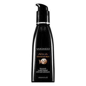 Wicked Sensual Care Aqua 4oz Cinnamon Bun
