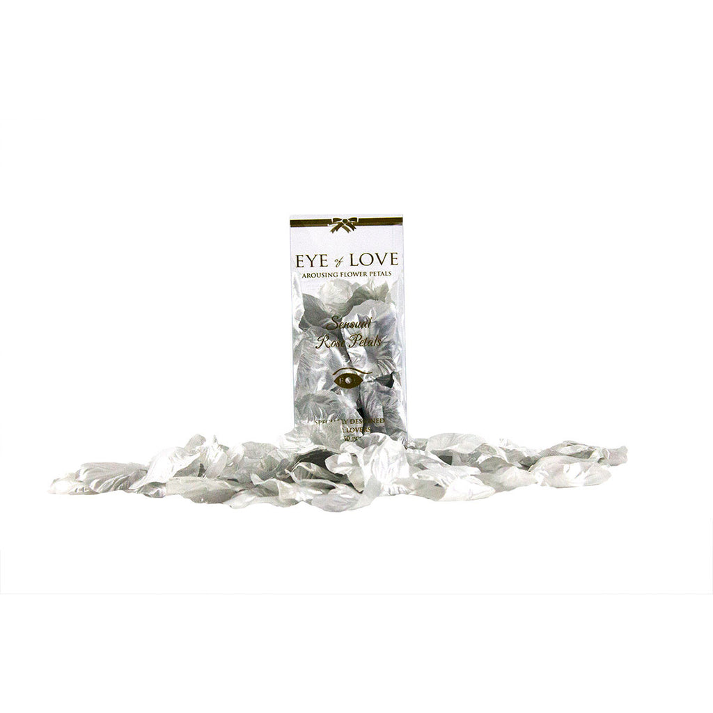 Eye of Love Rose Petals - Silver