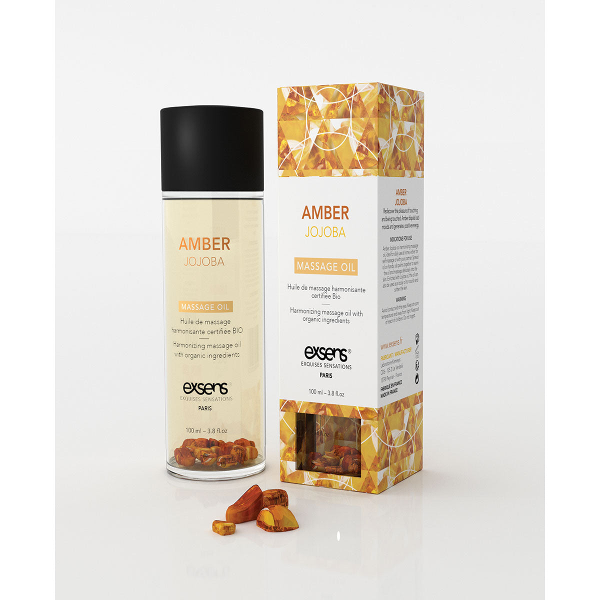 Exsens Massage Oil - 100ml Amethyst Sweet Almond