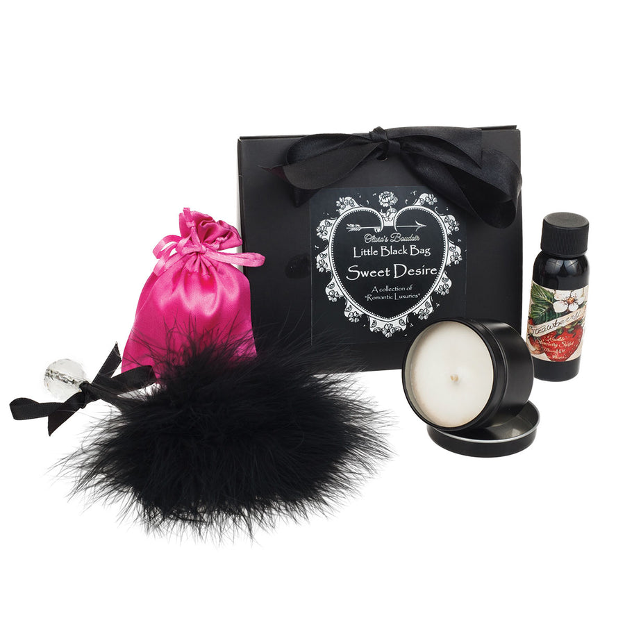 Olivia's Boudoir Black Bag - Sweet Desire