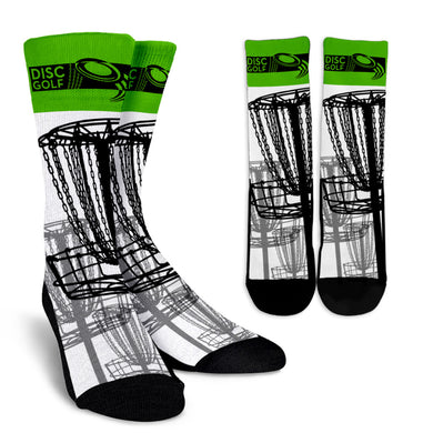 Disc Golf Crew Socks