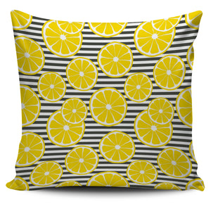 slice of lemon design pattern Pillow Cover