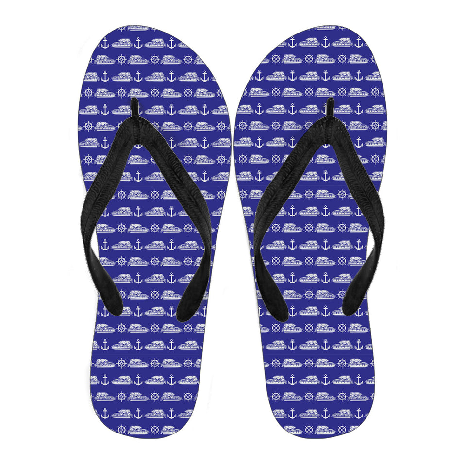 Women Flip Flops-Pontoon Anchor Rudder ccnc006 ccnc012 pb0085