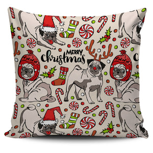 Pillow Cover-Pug Pattern ccnc003 dg0078