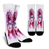 Masked Mystery Woman Crew Socks