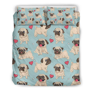 Pug Bedding Set