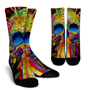 Super Skull Crew Socks
