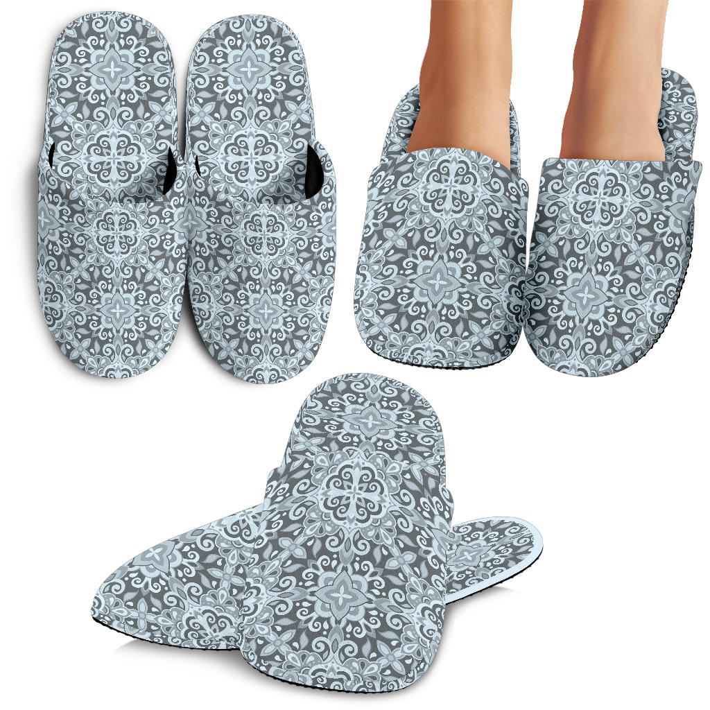 Traditional Indian Element Pattern Slippers