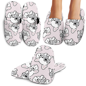 Cute French Bulldog Pattern Slippers