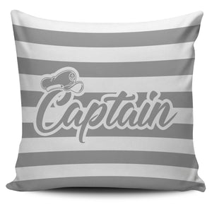 Pillow Cover - Captain&First Mate Stripe Anchor ccnc006 bt0173
