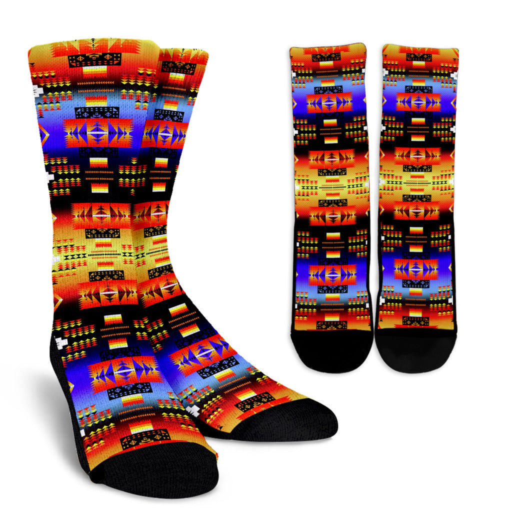 Seven Tribes Horizon Crew Socks