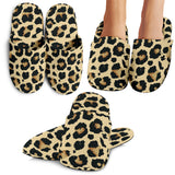 Leopard Print Design Pattern Slippers