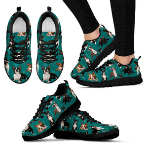 Boston Terrier Women's Sneakers Style 1