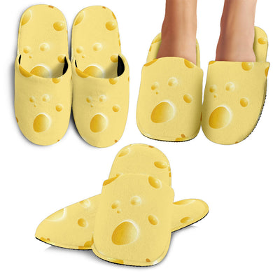 Cheese Texture Slippers