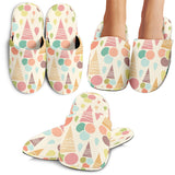Ice Cream Cone Pattern Slippers