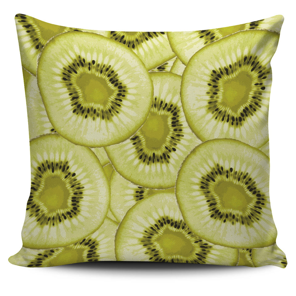 Sliced kiwi pattern Pillow Cover