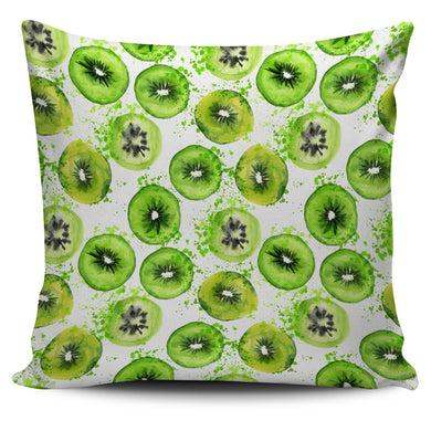 Watercolor kiwi pattern Pillow Cover