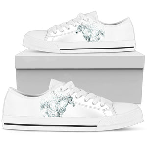 White Horse Women'S Low Top Shoe