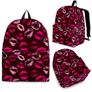 Lips Pattern Print Design 03 Backpack.jpg