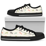 Horse Women's Low Top Shoe