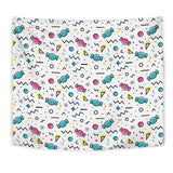 Candy Design Pattern Wall Tapestry