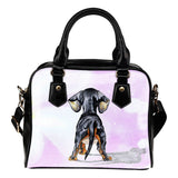 Dachshund Shoulder Handbag