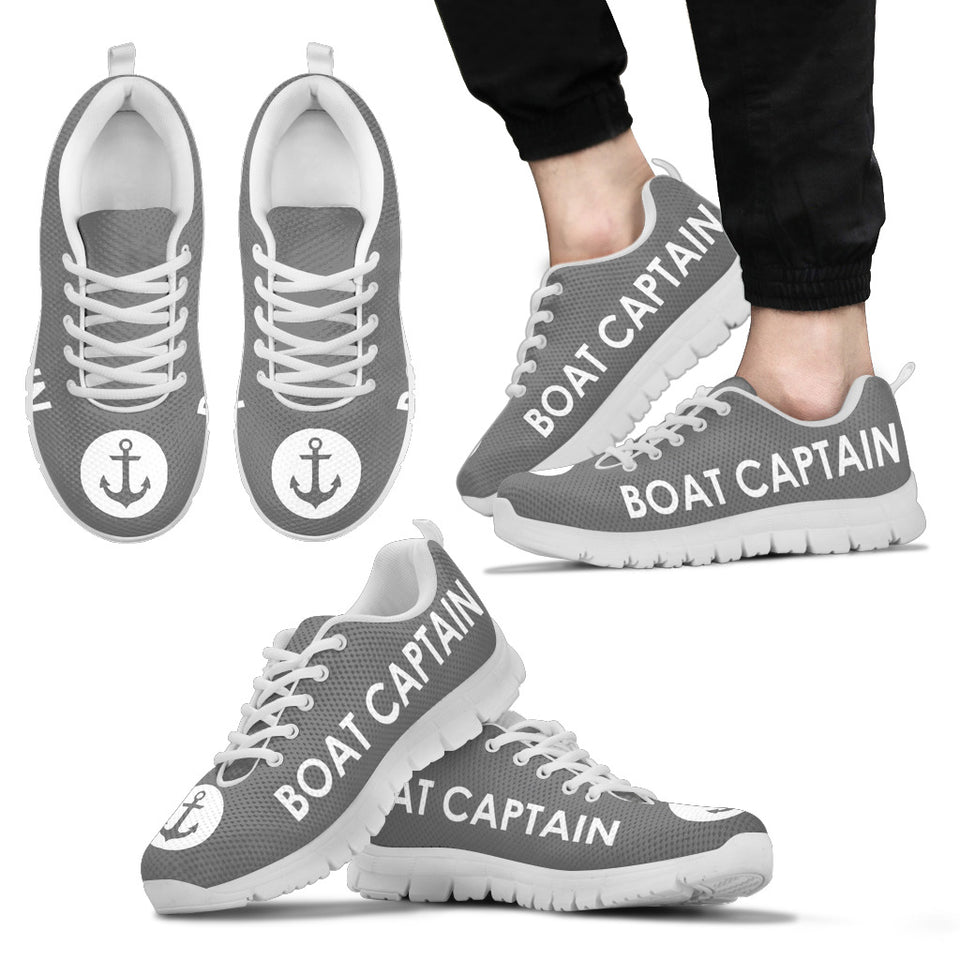 Men'S Sneakers-Boat Captain Anchor Ccnc006 Bt0176