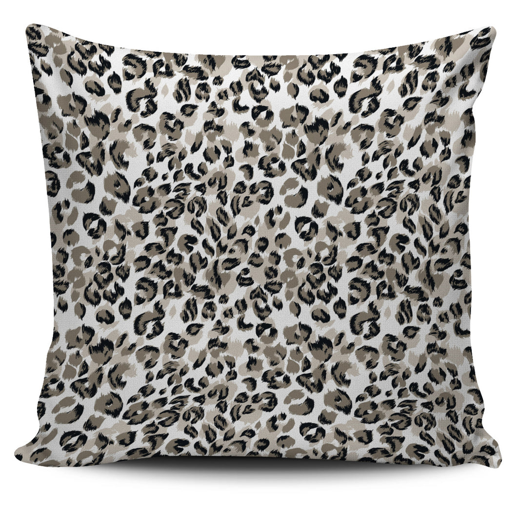 Leopard Skin Print Pattern Pillow Cover