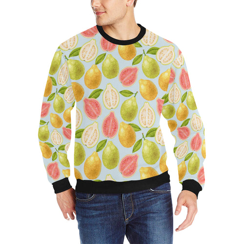Guava design pattern Men's Crew Neck Sweatshirt