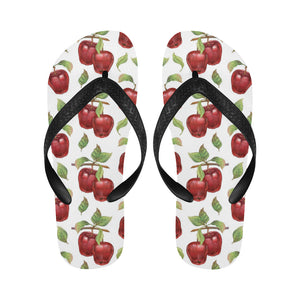 Red apples pattern Unisex Flip Flops
