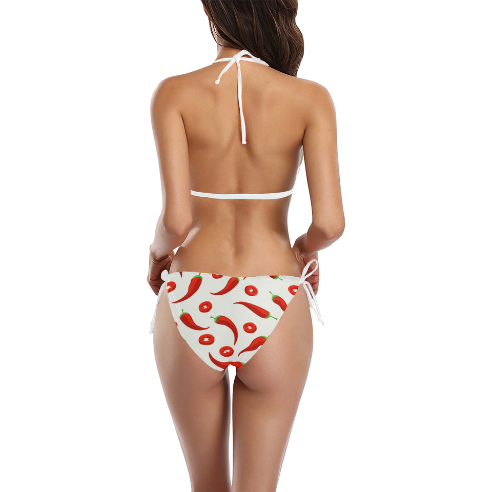 Chili pattern Sexy Bikinis Two-Piece Swimsuits