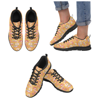 Camper Van Pattern Print Design 04 Women's Sneaker Shoes