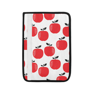 red apples white background Car Seat Belt Cover