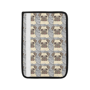 Happy pug pattern Car Seat Belt Cover