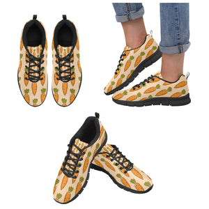 Carrot Pattern Print Design 04 Women's Sneaker Shoes