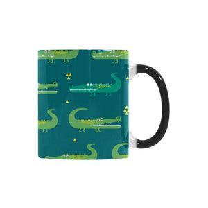 Crocodile pattern Morphing Mug Heat Changing Mug