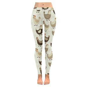 Cute rooster chicken cock Women's Legging Fulfilled In US