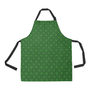 Casino Cards Suits Pattern Print Design 04 All Over Print Adjustable Apron
