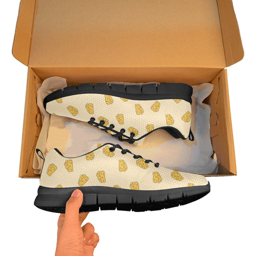 Cheese pattern Men's Sneaker Shoes