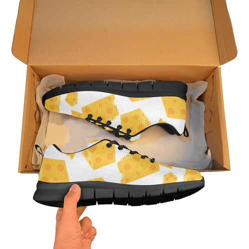 Cheese slice pattern Men's Sneaker Shoes