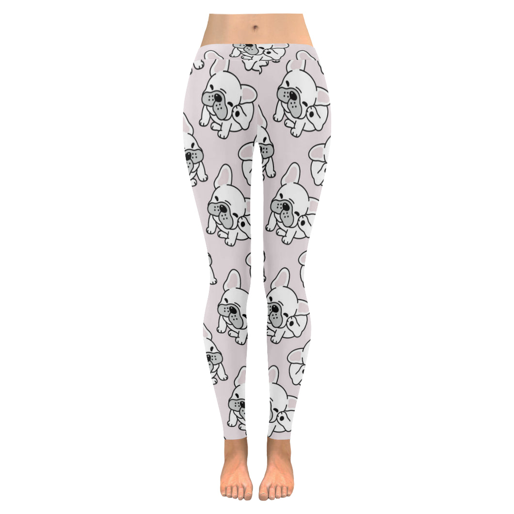 Cute french bulldog pattern Women's Legging Fulfilled In US
